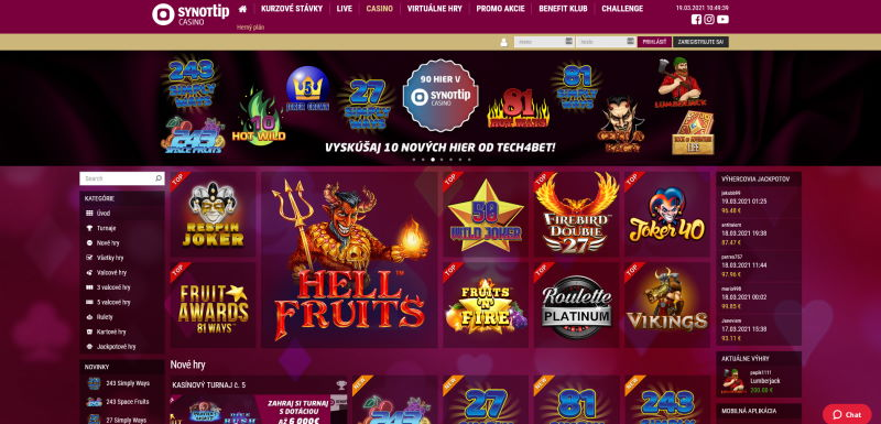 SynotTip.sk online casino
